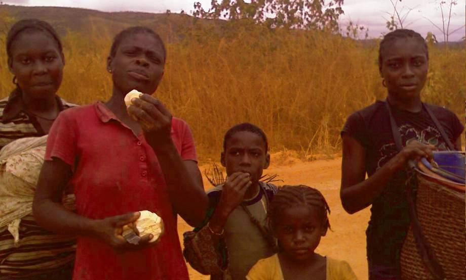 Hunger und kannibalische Weltordnung
